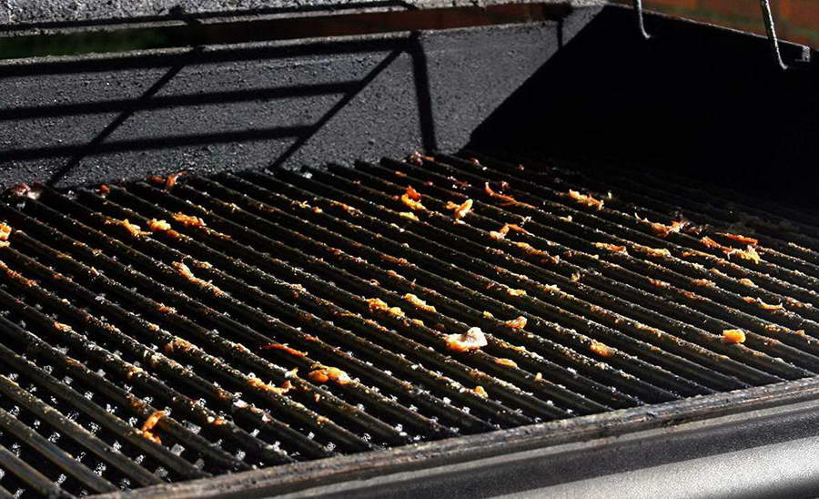 Dirty Grilling Grates